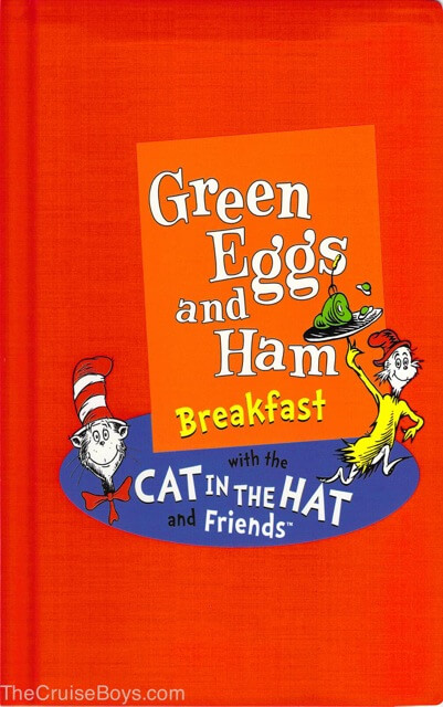 Carnival Green eggs and Ham breakfast