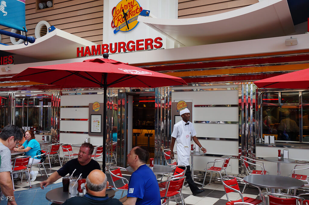 Allure of the Seas Johnny Rockets