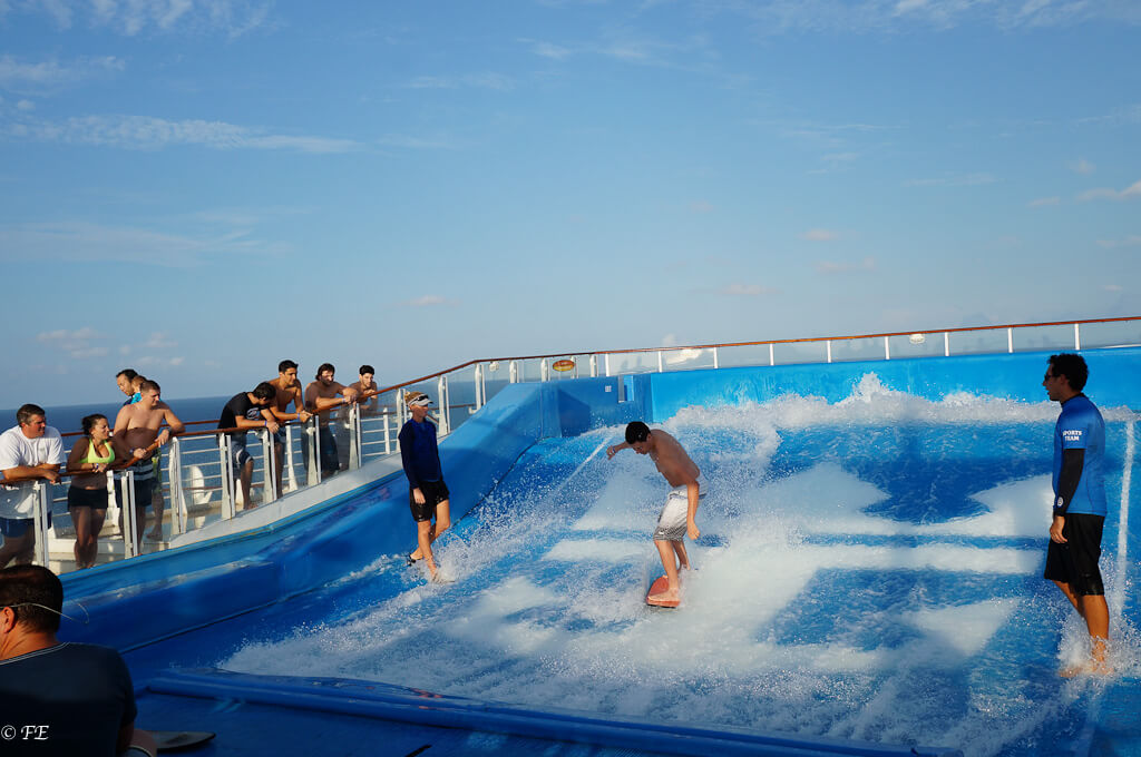 Allure of the Seas flow rider