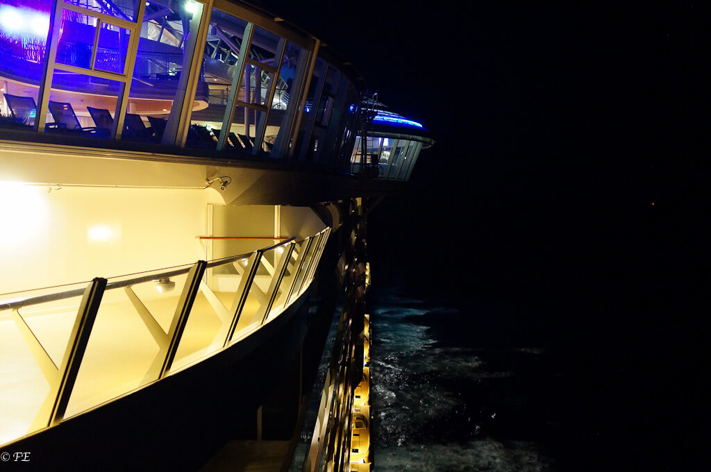 Allure of the Seas sun deck