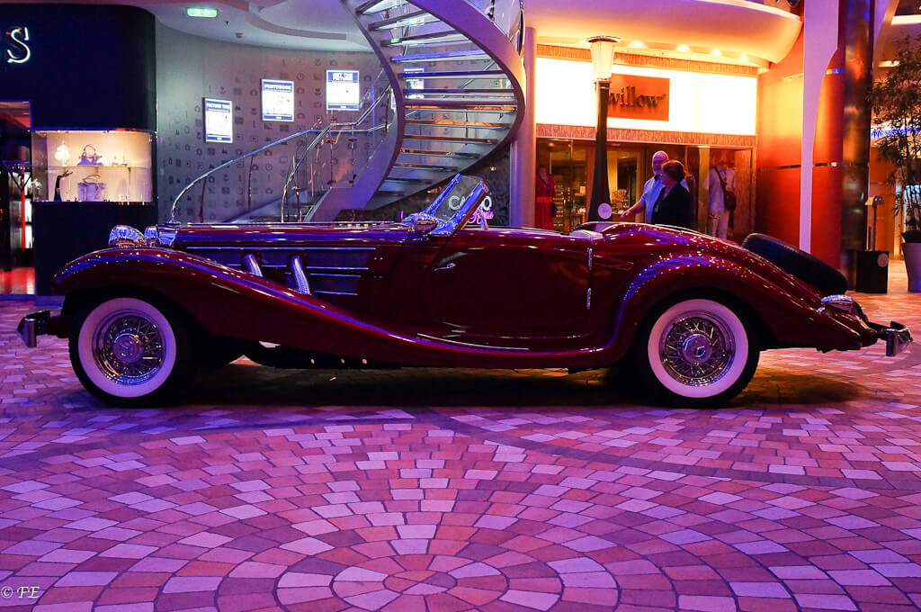 Allure of the Seas car