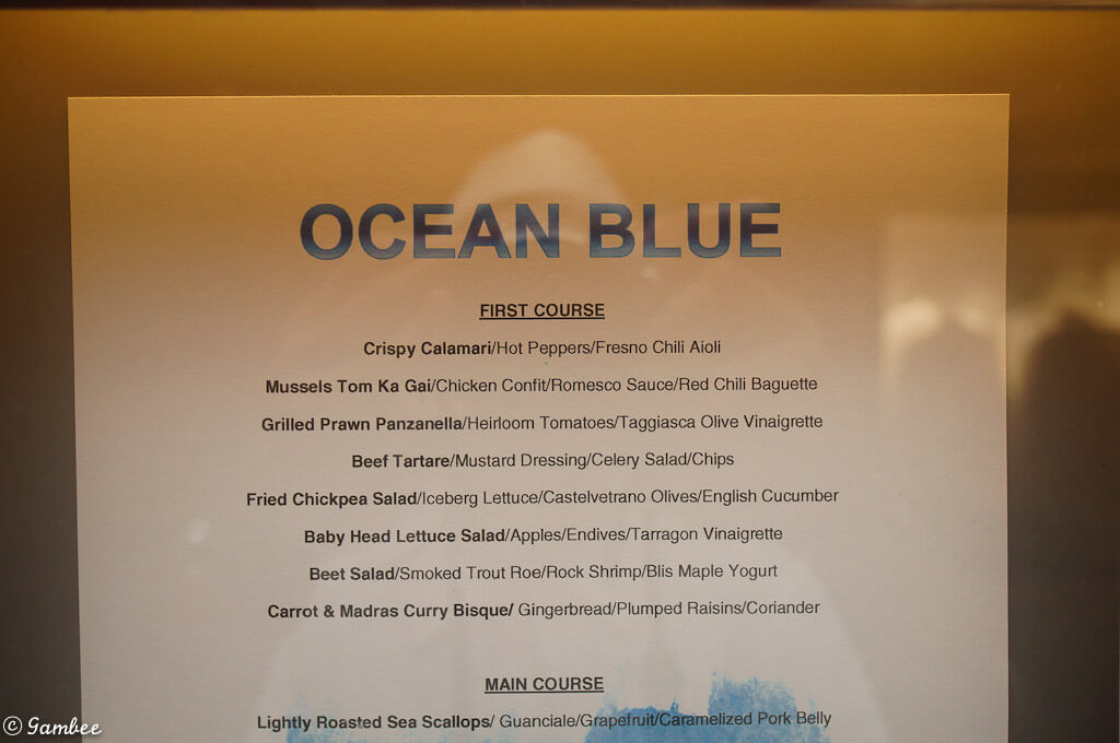 Norwegian menu lists and much more cruise with gambee