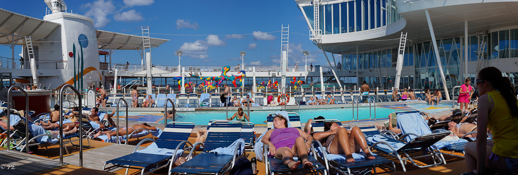 Allure of the Seas sports pool