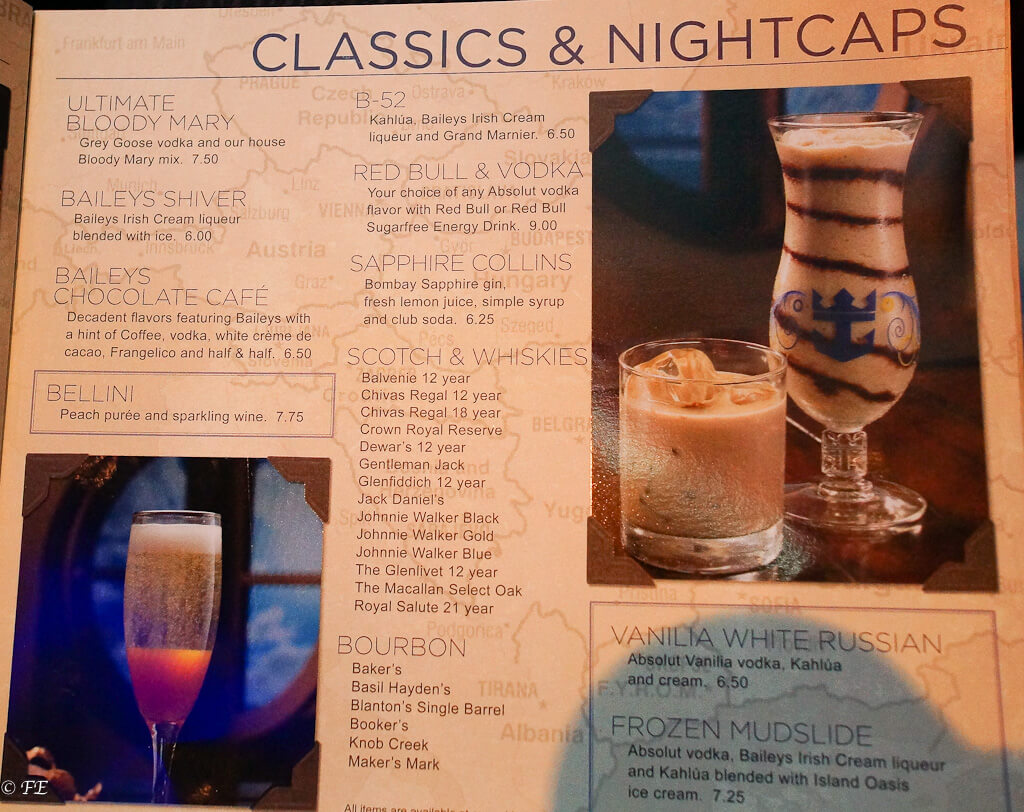 royal caribbean drink