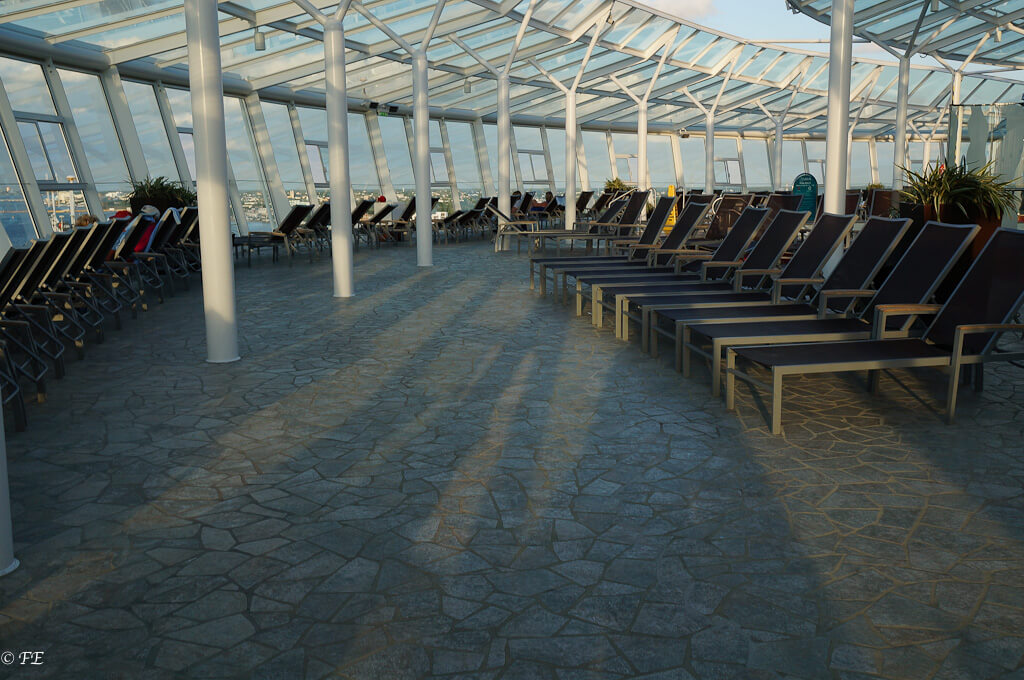 Allure of the Seas Solarium