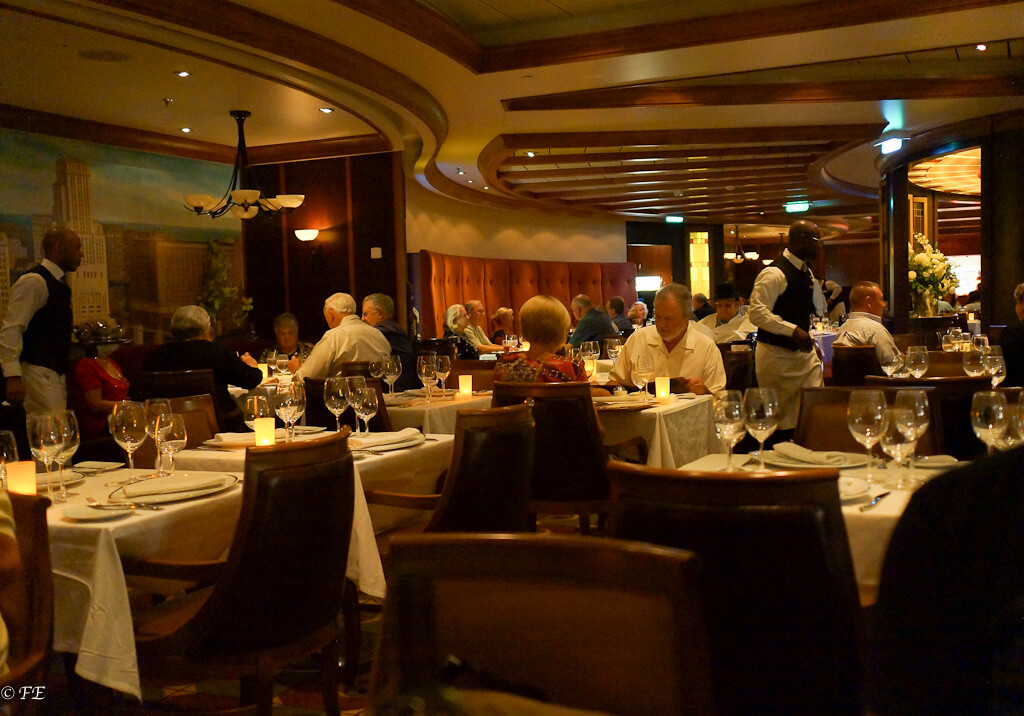 Allure of the Seas Chops Restaurant