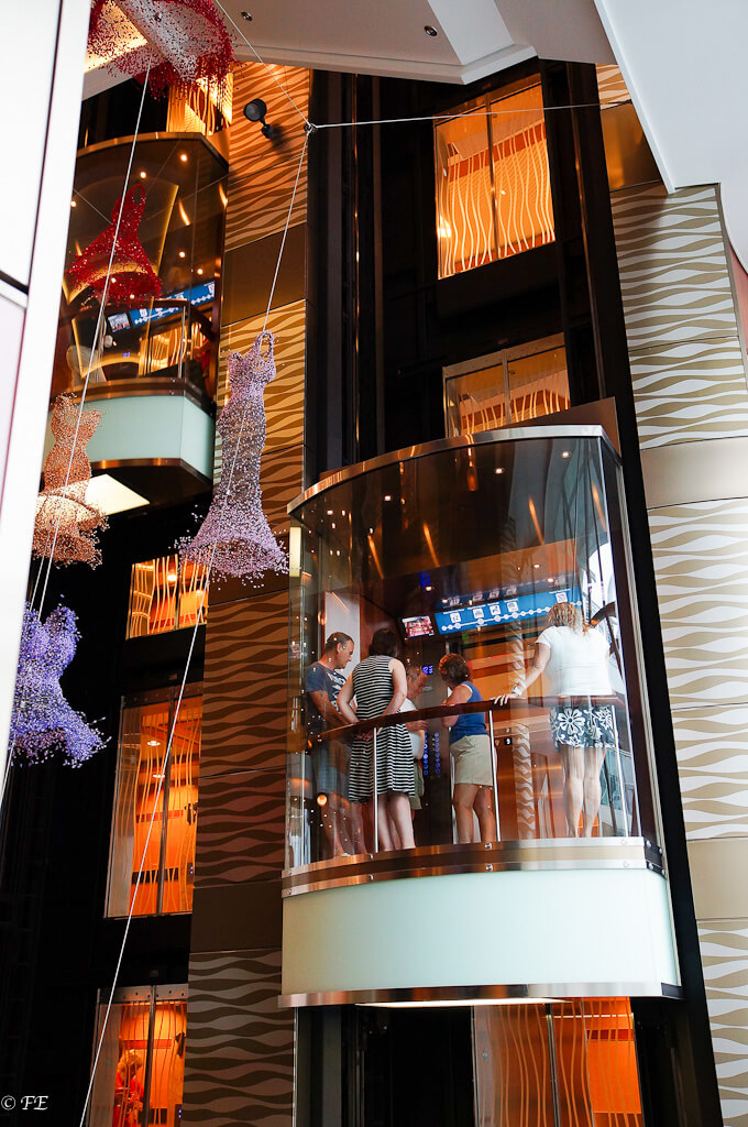 Allure of the seas elevator