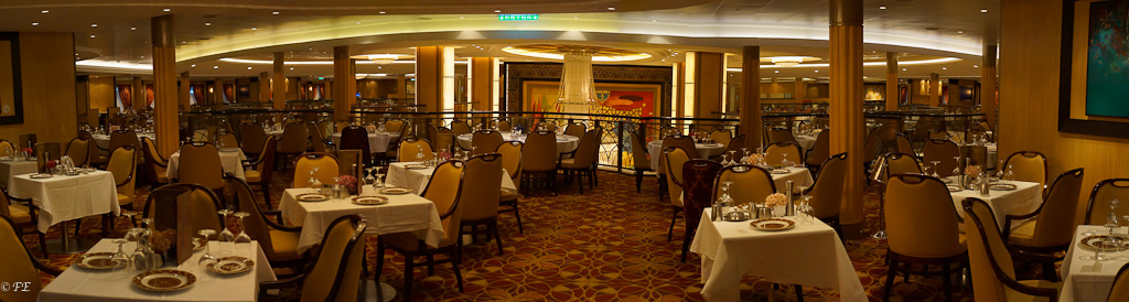 Allure of the seas main dining room