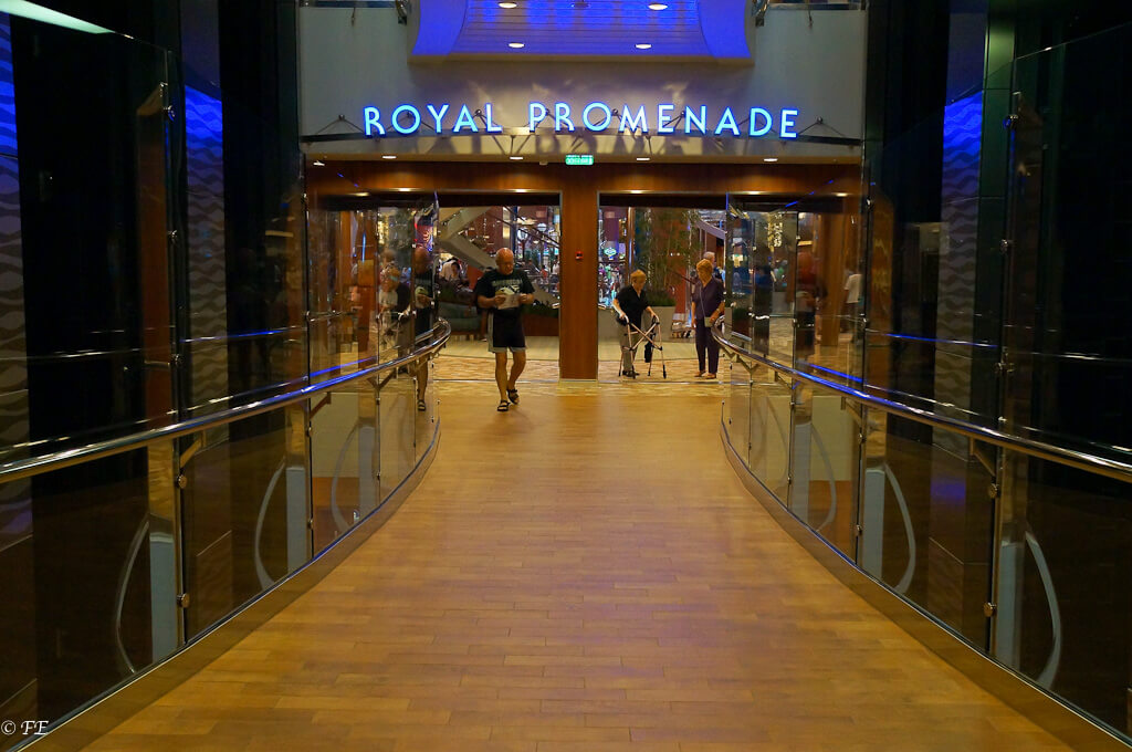 Allure of the Seas Royal Promenade