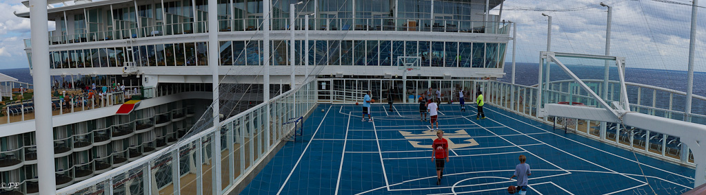 allure of the seas basketball court