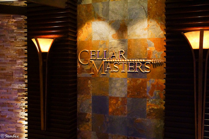 Celebrity Silhouette cellar masters