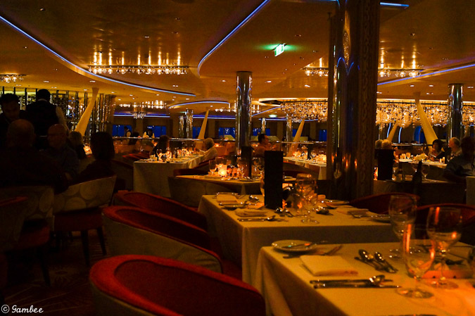 Celebrity Silhouette main dinning room