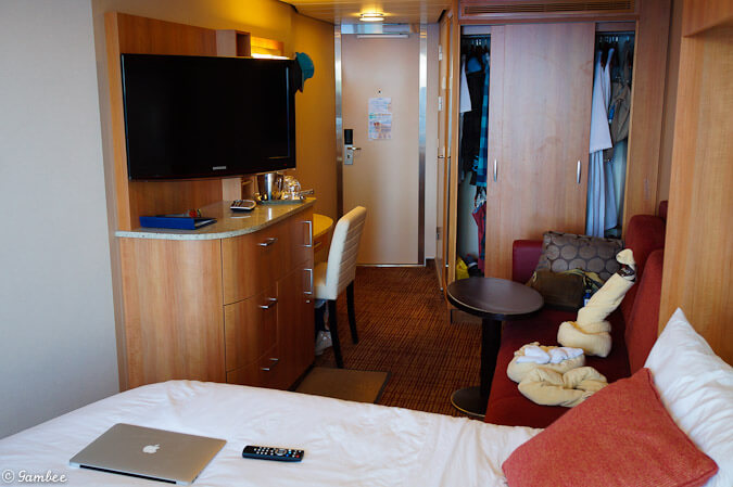 Celebrity Silhouette Balcony stateroom Tour