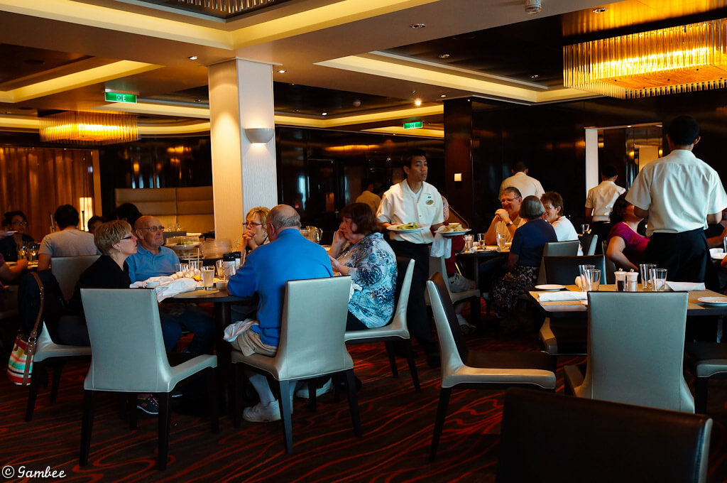 norwegian breakaway main dinning room