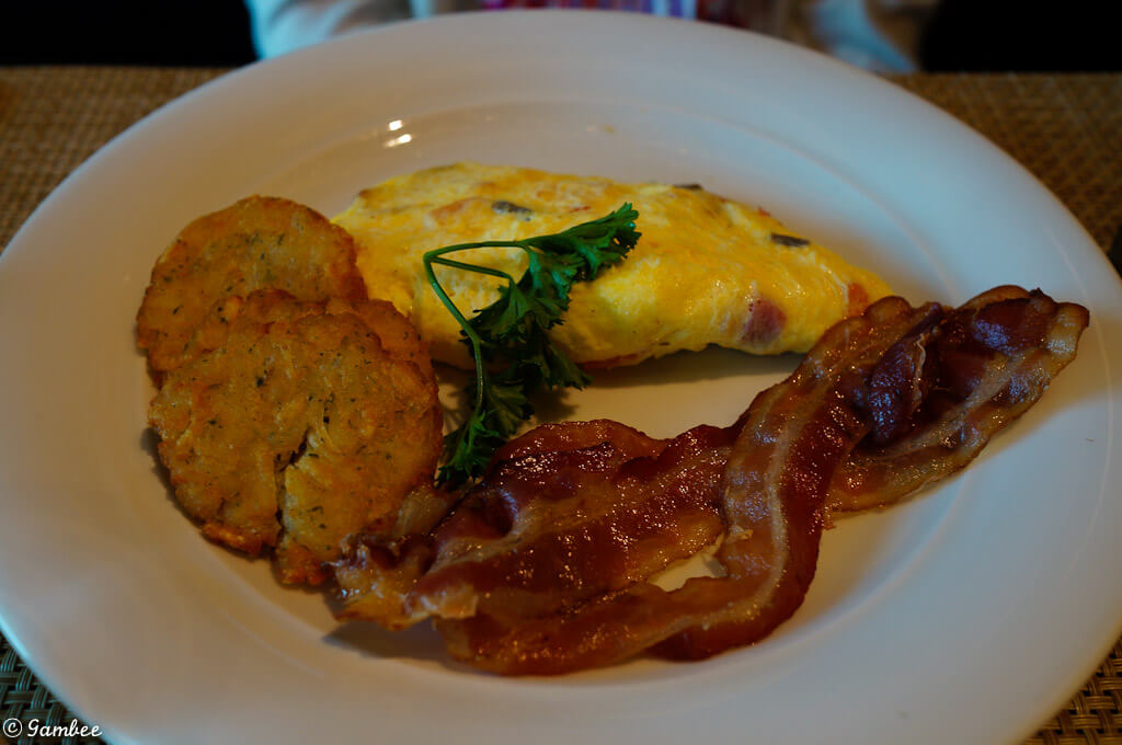 Norwegian Breakaway breakfast food