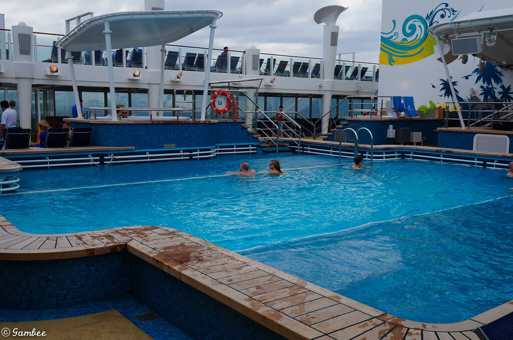 Norwegian Breakaway main Pool