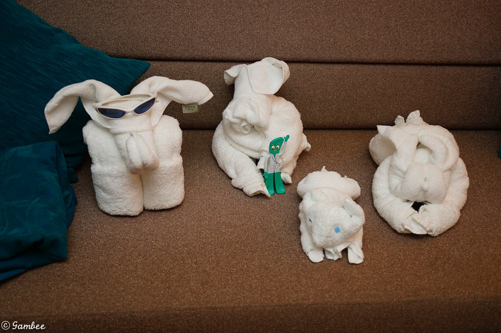 Norwegian Breakaway Towel Animals