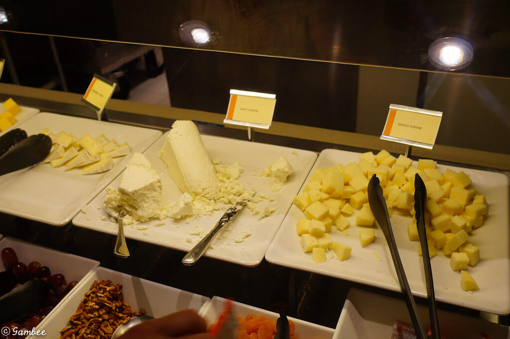 Norwegian Breakaway food buffet
