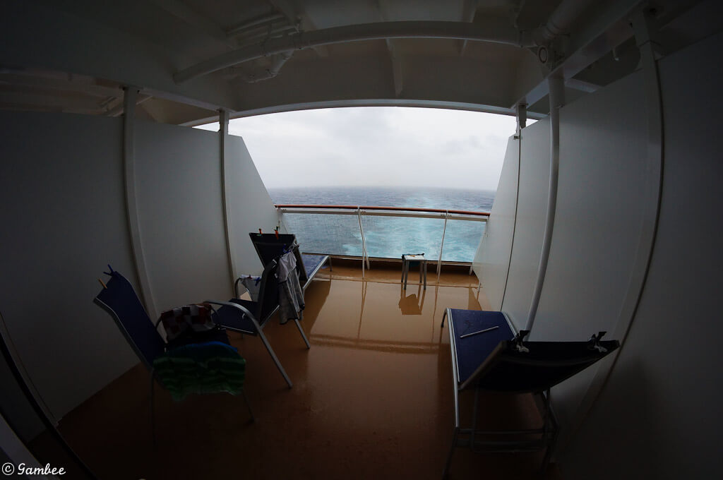 Norwegian Breakaway aft balcony room