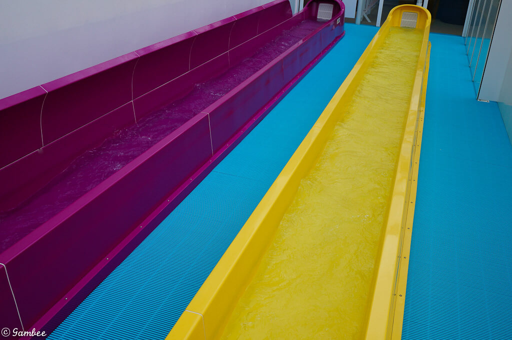 Norwegian Breakaway water slides