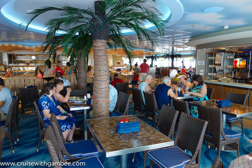 Disney Dream Buffet restaurant