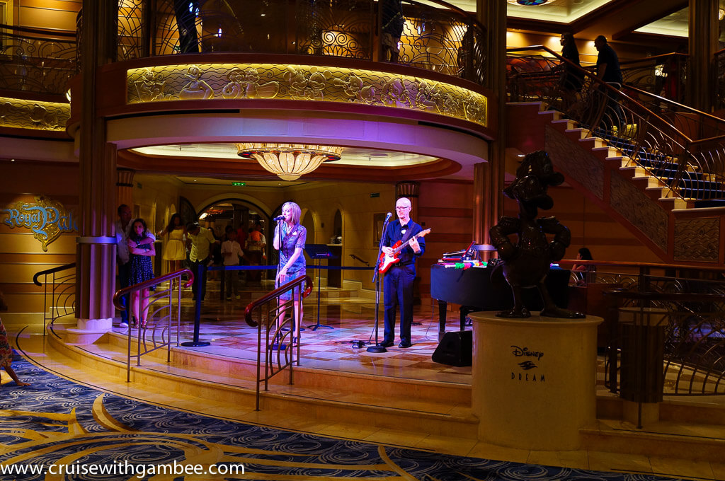 Disney dream live music