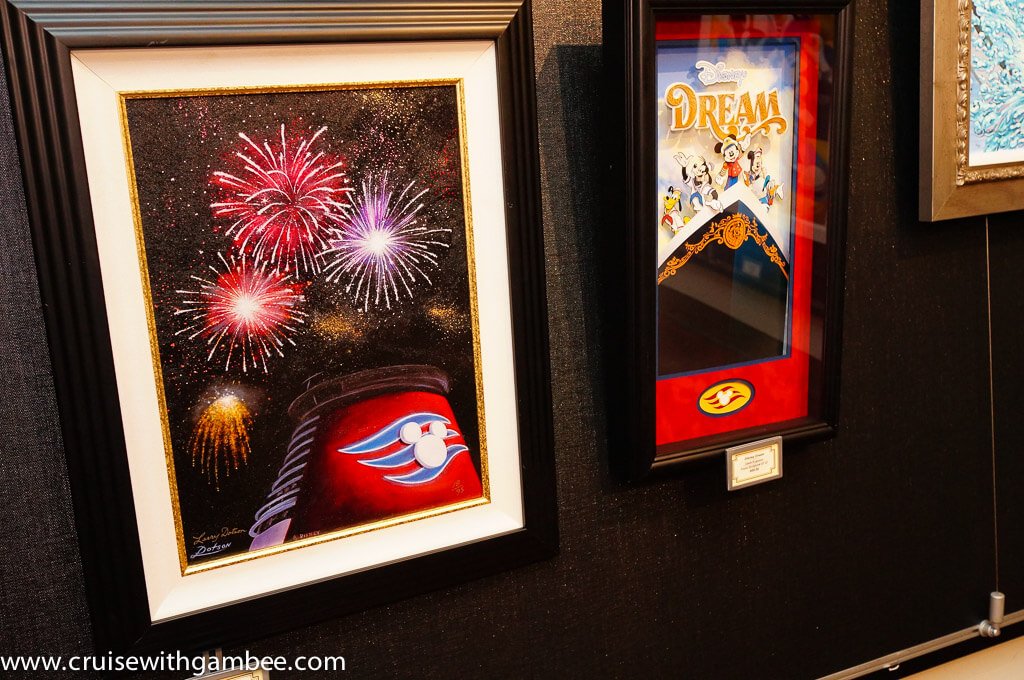 Disney Dream Art Gallery
