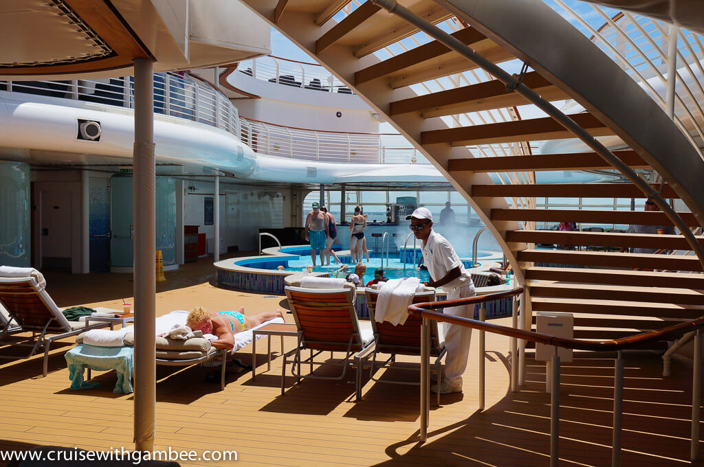 Disney Dream pools