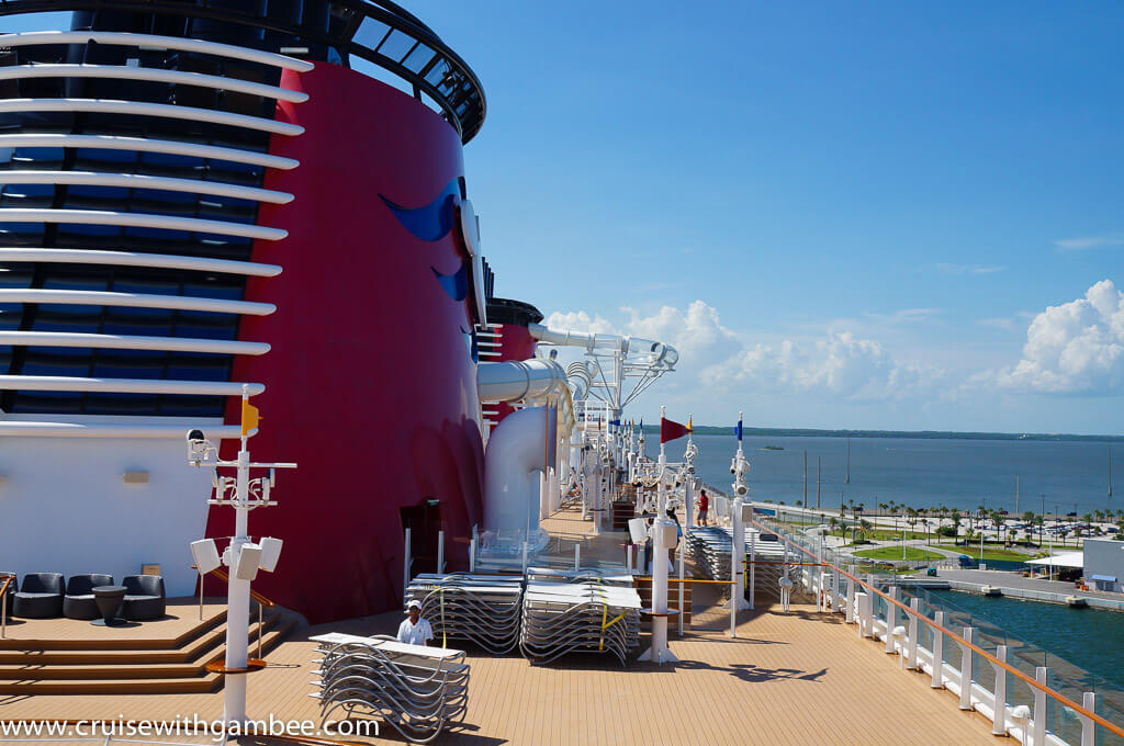 Disney Dream Water slide aquaduck