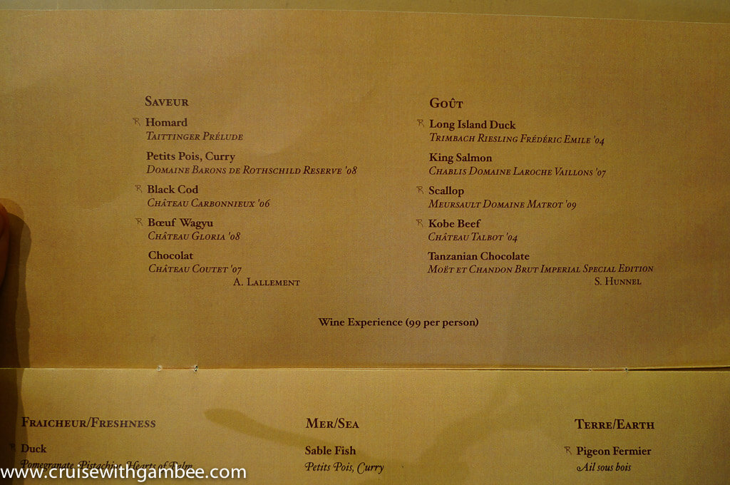 disney wonder menu