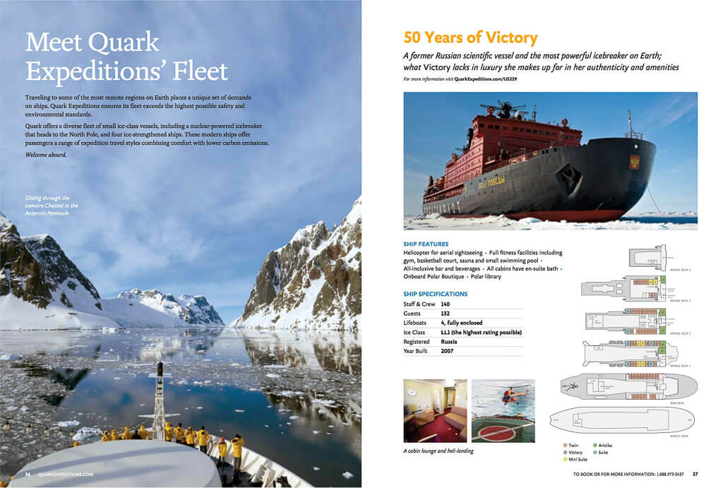 Quark expeditions ships