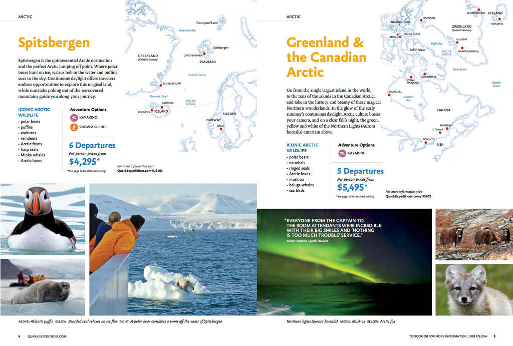 Greenland and Canadian Arctic cruise