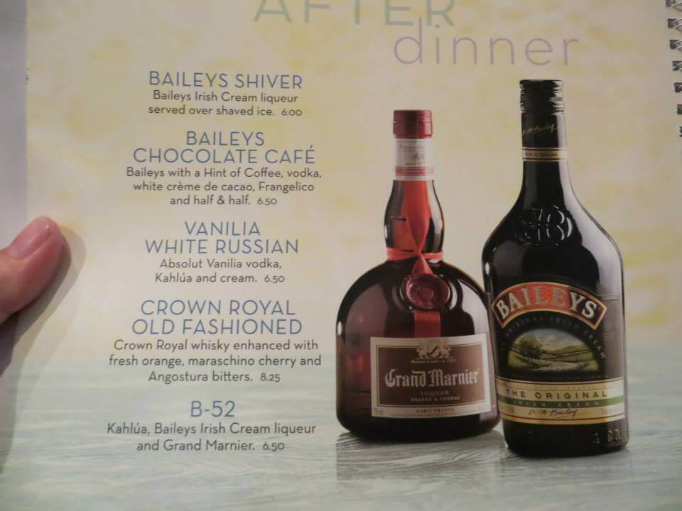 2014 Royal Caribbean Drink Prices