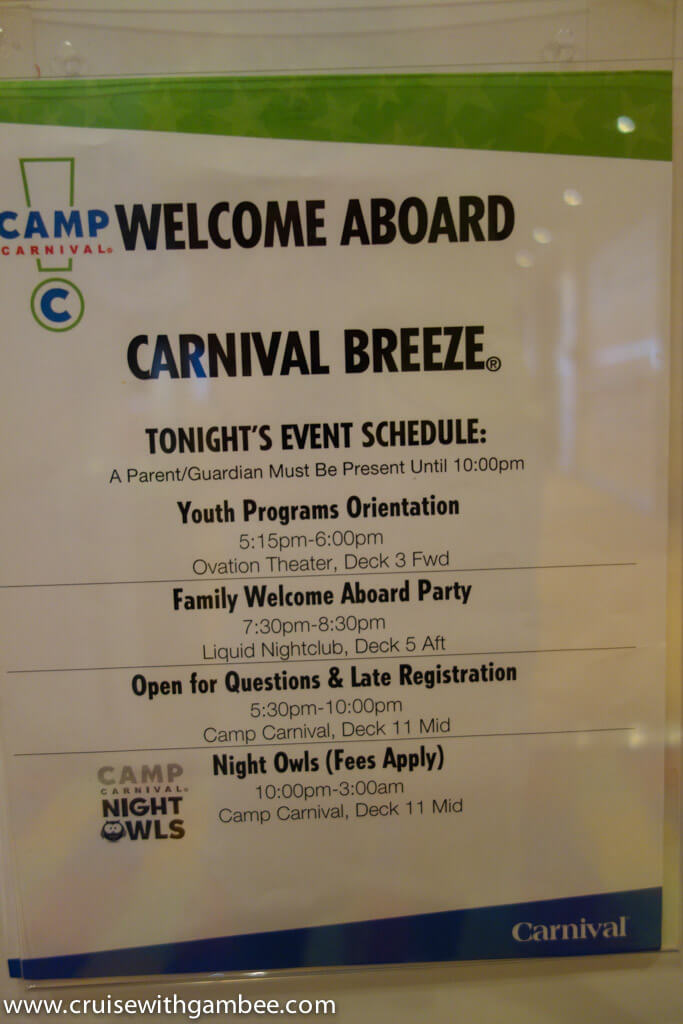 Carnival Cruise for Kids