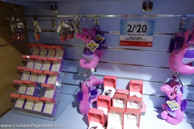 Carnival Breeze Stores