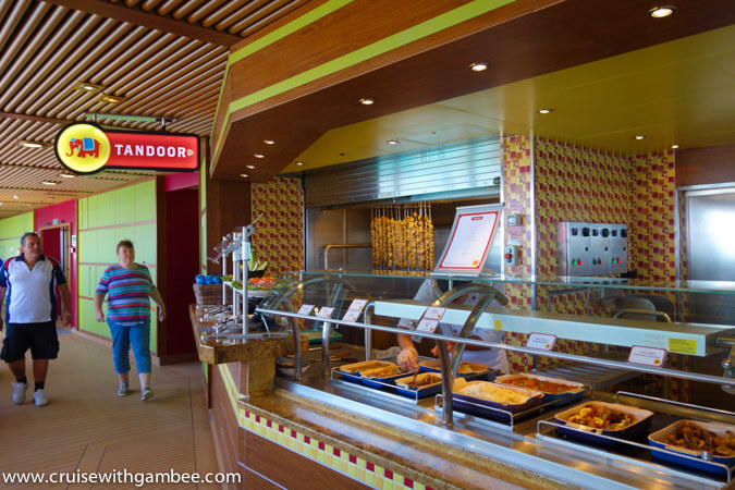 Carnival Breeze Tandoor