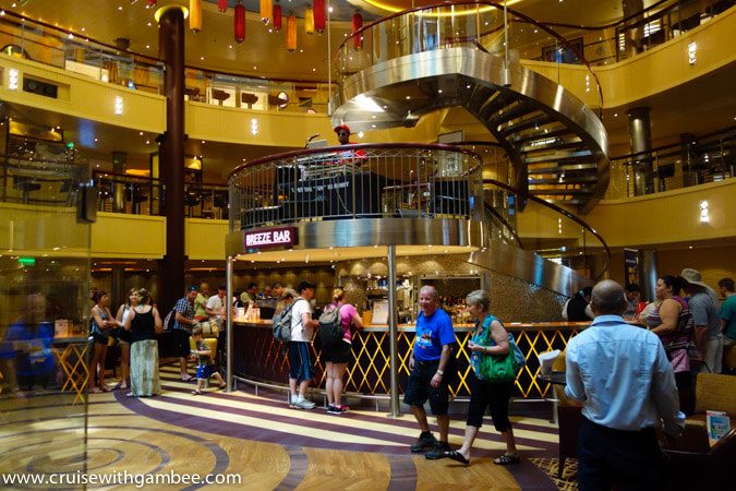 Carnival Breeze Atrium