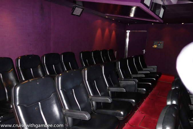 Carnival Breeze Thrill Theater