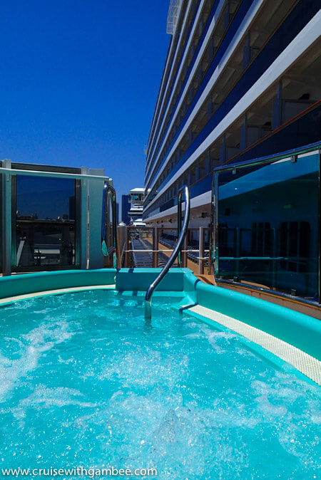 Carnival Breeze Jacuzzis