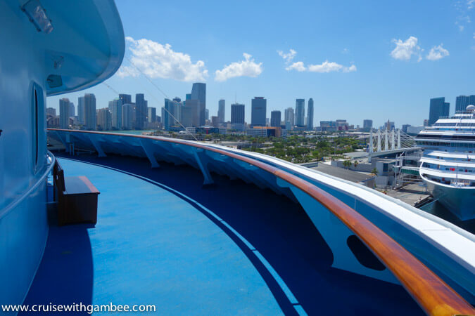 Carnival Breeze secret balcony