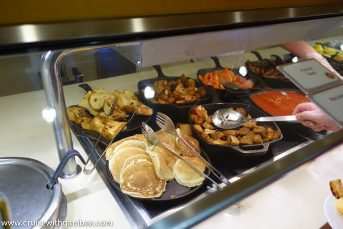 Carnival Breeze breakfast options