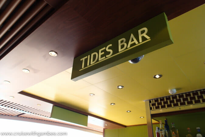 Carnival Breeze Bars