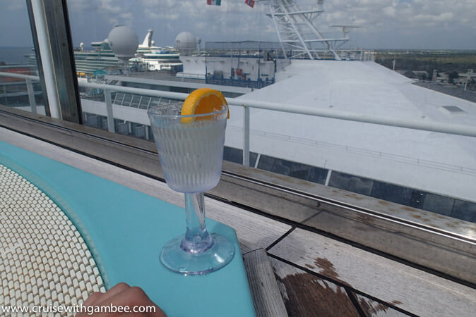 Carnival Breeze Drinks