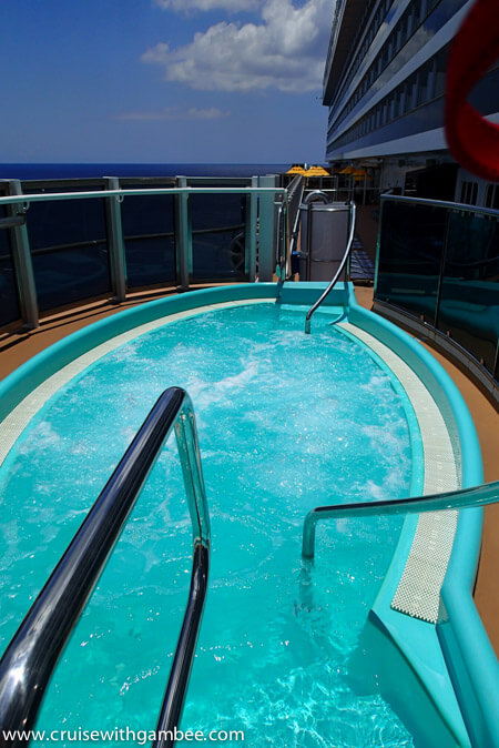 carnival Breeze Jacuzzi
