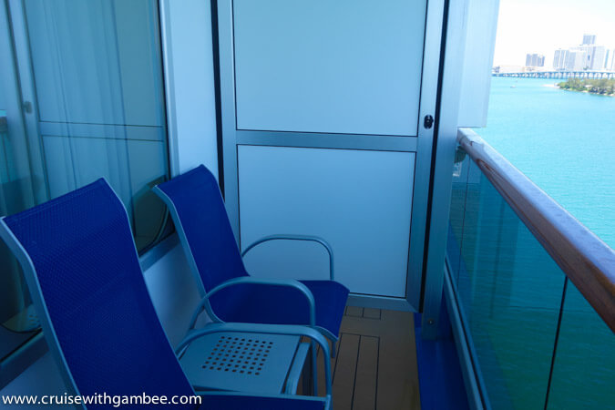Carnival Breeze Balcony