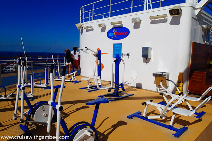 Carnival Breeze Sky Fitness Gym