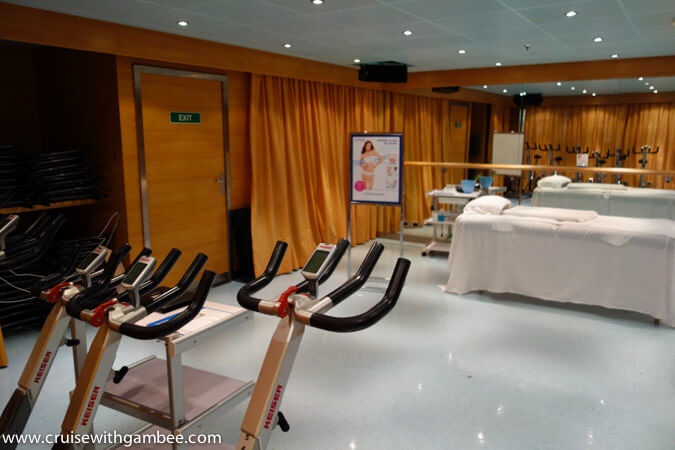 Carnival Breeze Spa
