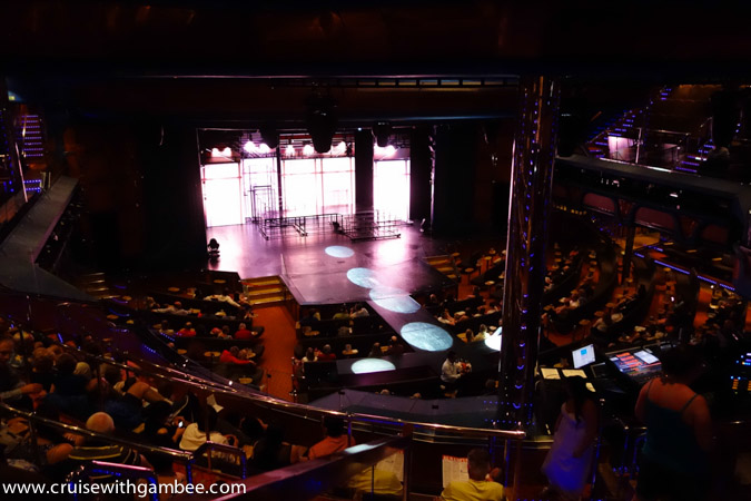 Carnival Breeze theater