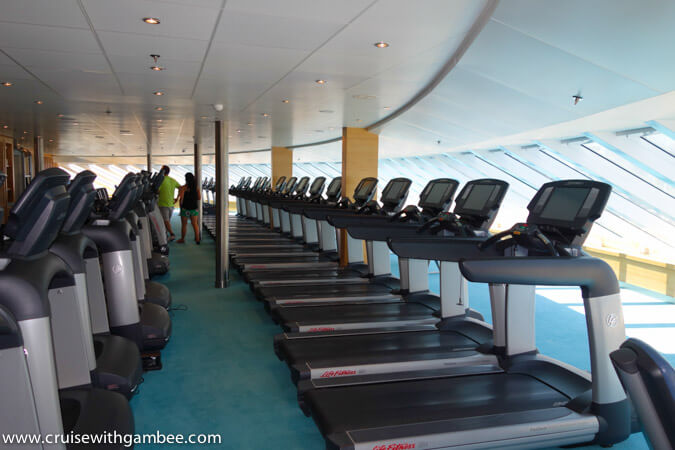 Carnival Breeze Gym