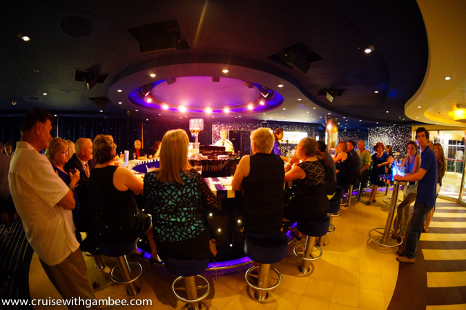 Carnival Breeze Piano Bar